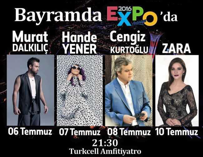 Байрам с турецкими звездами на ЭКСПО в Анталии