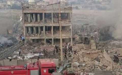 Полицейское управление в Джизре уничтожено взрывом