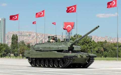 Турция получит 250 новых танков ALTAY собственного производства