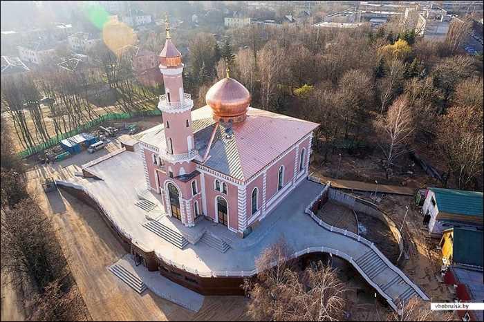 Диянет Турции восстановил мечеть в Беларуси