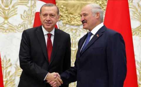 Лукашенко и Эрдоган открыли Минскую соборную мечеть