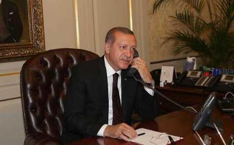 Эрдоган обсудил Палестину с десятью лидерами государств