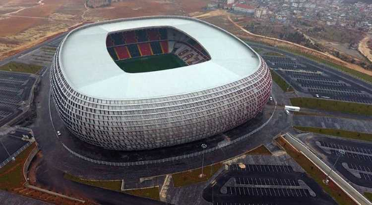 Газиантепспор сегодня сыграет на новом стадионе