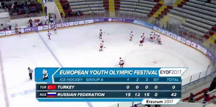 Турция — Россия : 0 — 42