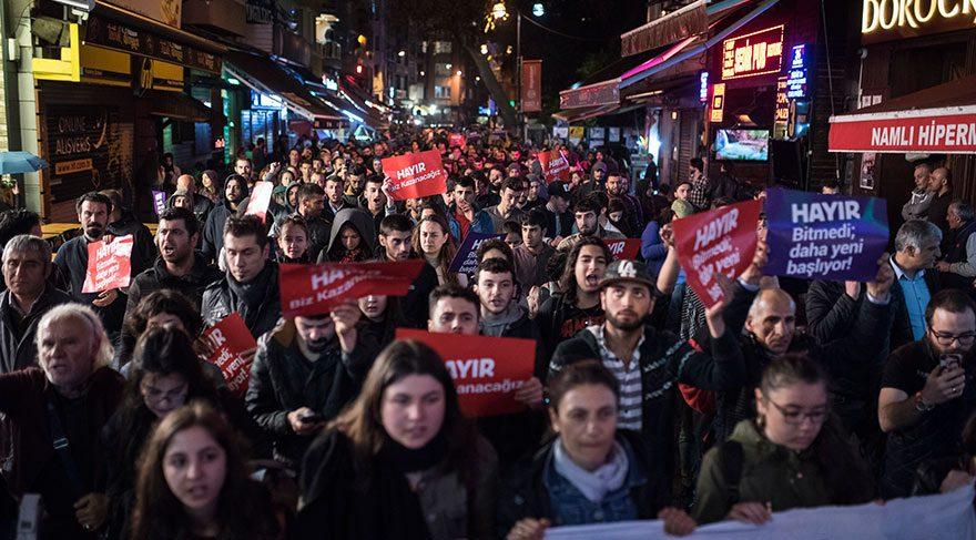 Протесты: Стамбул, Измир, Анталия, Эскишехир