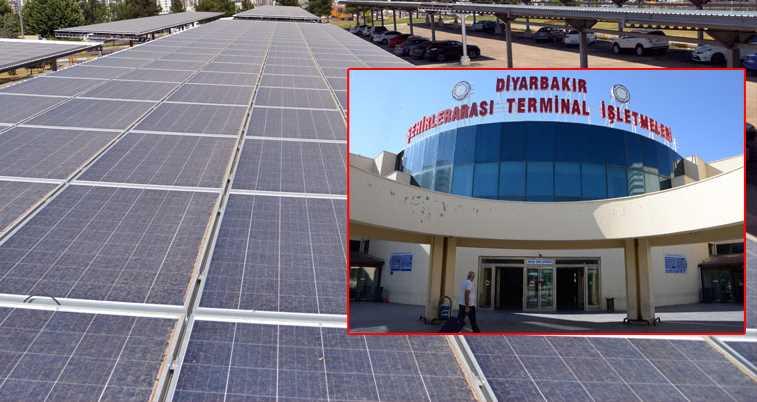 Первый в Турции автовокзал на солнечной энергии