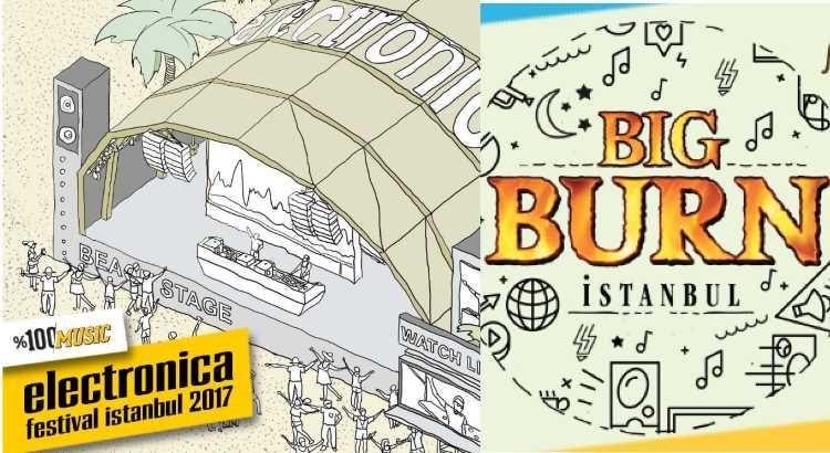 Два электронных фестиваля разорвут летний Стамбул