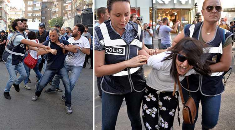 Протест профсоюзов завершился 32 задержаниями