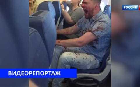 Авиадебошир отправится обратно из Анталии в Москву