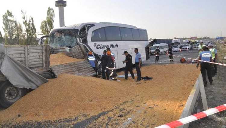 ДТП с участием автобуса в Анкаре: 3 погибших