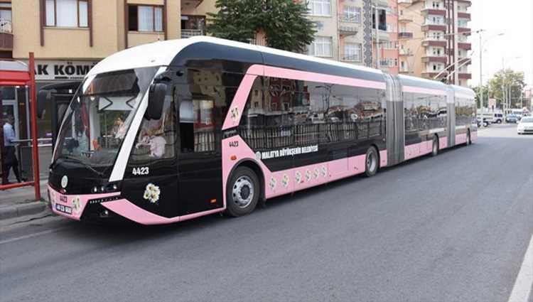 В Малатье появились троллейбусы только для женщин