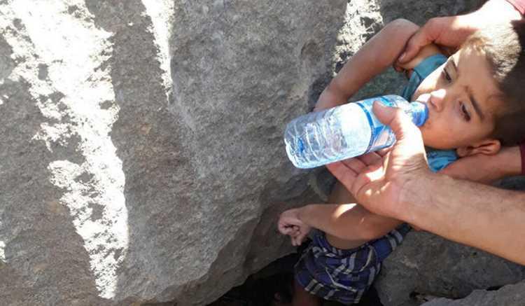 25 часов в поисках пропавшего 2,5-летнего ребенка