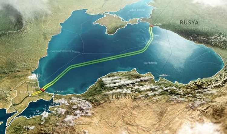 «Турецкий поток» может достичь берега уже в конце апреля