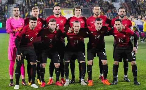 Сборная Турции примет сегодня сборную Ирландии