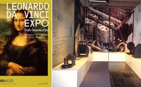 «Гений в Стамбуле»: открылась выставка Леонардо Да Винчи