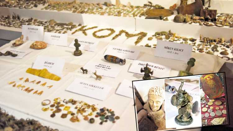 Полиция Стамбула изъяла «целый музей артефактов»