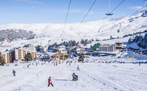 Улудаг остается популярным курортом «выходного дня»