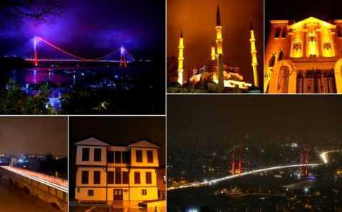 Акция «Час Земли» прошла по всей Турции