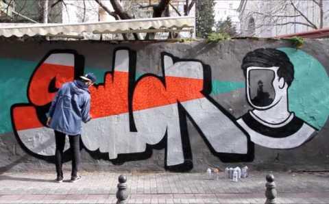 Уличный художник или стамбульский вандал?