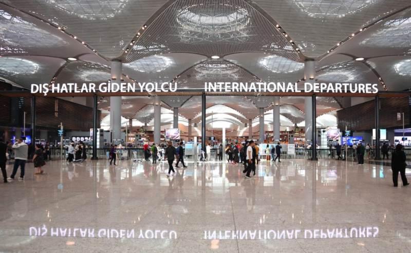 Аэропорт Стамбула принял больше всех пассажиров в Европе