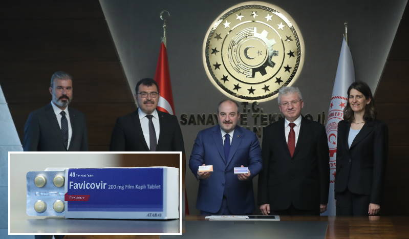 Турция представила препарат против COVID-19