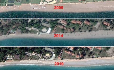 Ученые боятся исчезновения популярного пляжа Коньяалты