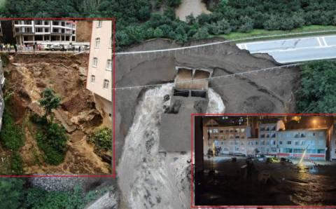 Сель в Гиресуне: 12 пропавших без вести