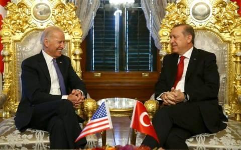 Байден впервые позвонил Эрдогану