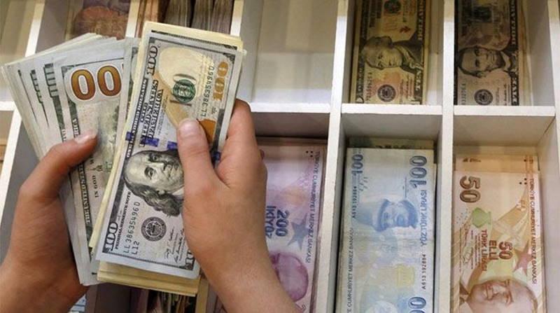 Лира пробивает дно: доллар выше 8; евро — 9,55