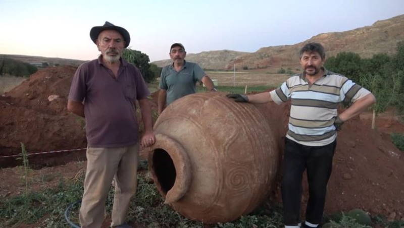 Турецкие фермеры почувствовали себя археологами