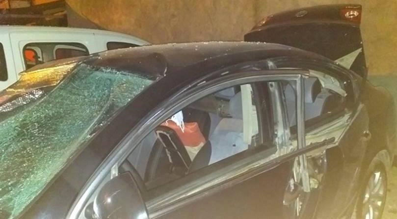 Курение в машине привело к взрыву
