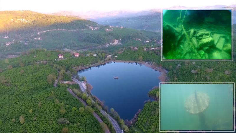 Археологи нашли церковь на дне озера в Орду