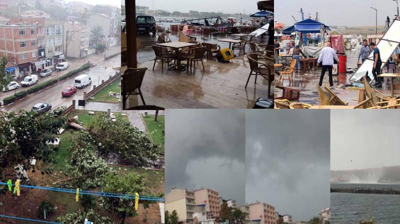 Текирдаг пострадал от урагана, на очереди другие провинции