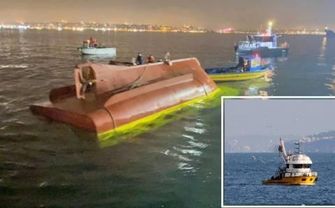 2 моряка погибли во время вылова рыбы в Стамбуле