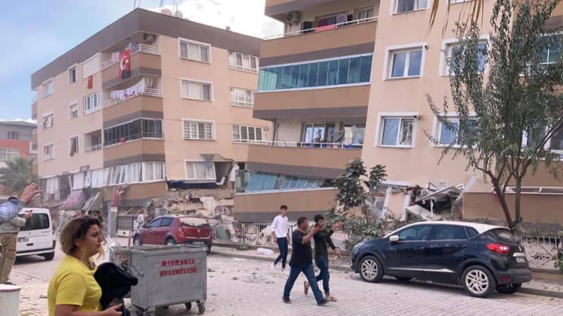 5 баллов утром снова потрясли Измир