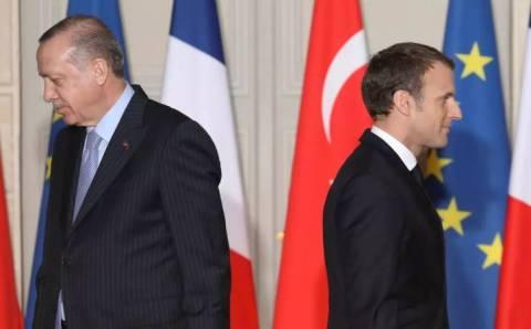Франция отозвала посла из  Турции после слов Эрдогана