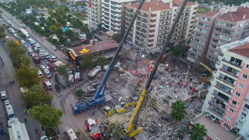 Измир снова ощутил землетрясение 4,1 балла