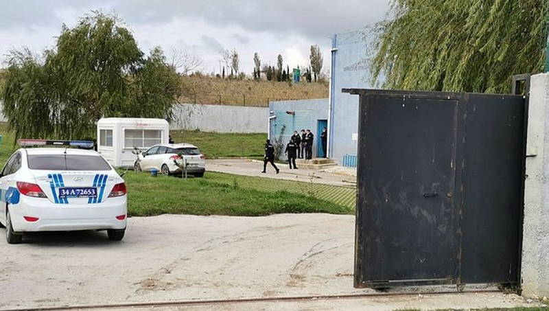 Полиция Стамбула ищет вторую половину тела