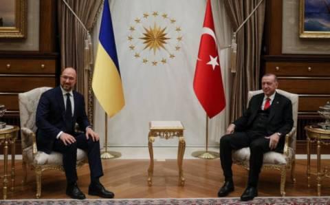 Эрдоган обсудил со Шмыгалем соглашение о ЗСТ