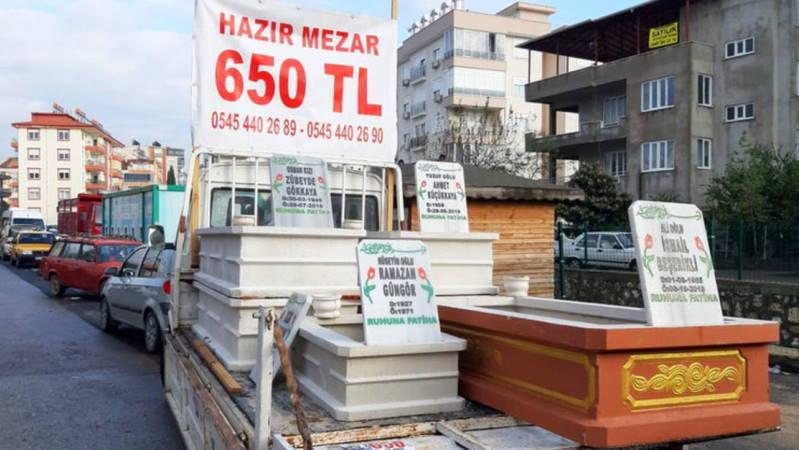 Купить надгробие теперь можно и на базаре