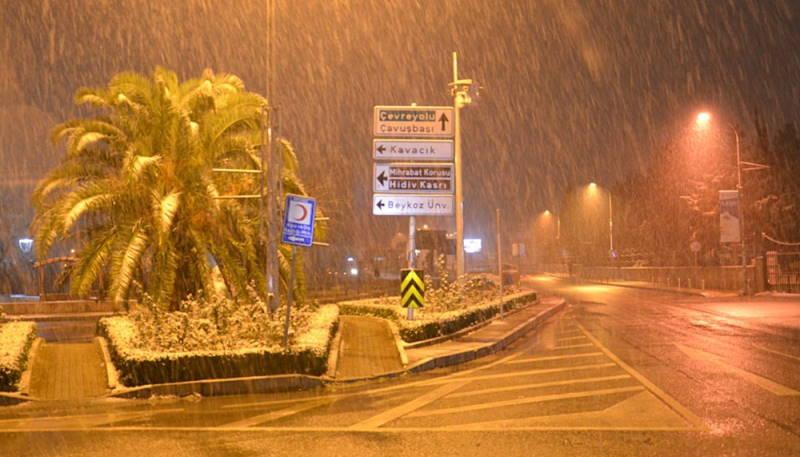Турцию ждет резкое похолодание
