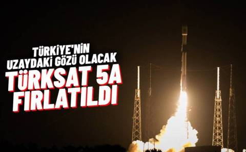 Турция вывела на орбиту спутник Türksat 5A
