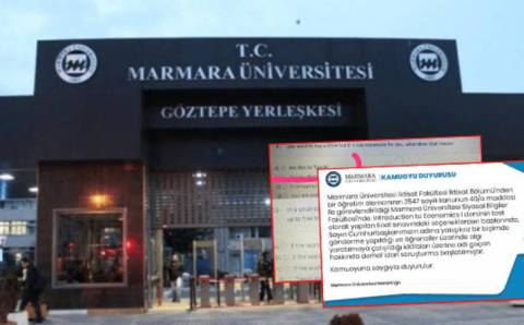 Тесты Университета Мармара в центре скандала