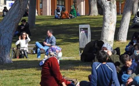 Весна придет в Турцию раньше времени