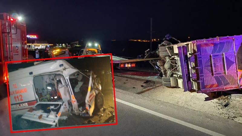 ДТП с участием скорой: 4 погибших, 2 пострадавших