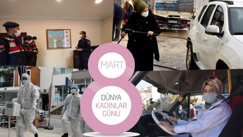 8 марта – обычный день сильной турецкой женщины