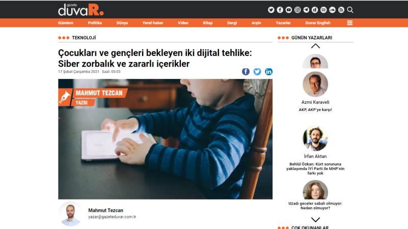 Две опасности для детей в цифровом пространстве: киберзапугивание и вредоносный контент