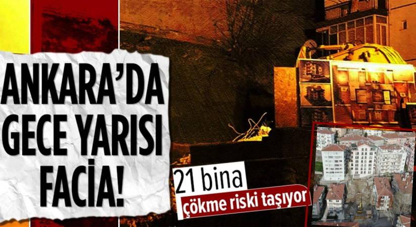 В Анкаре ночью эвакуировали 21 здание