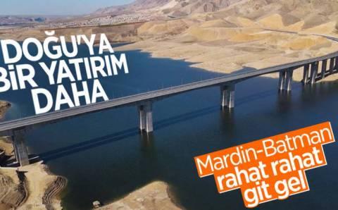 Километровый мост через Тигр