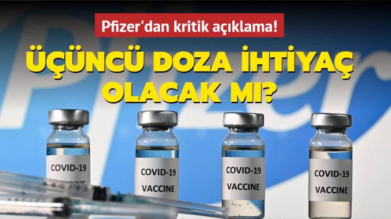 Pfizer: Третья инъекция и ежегодная вакцинация